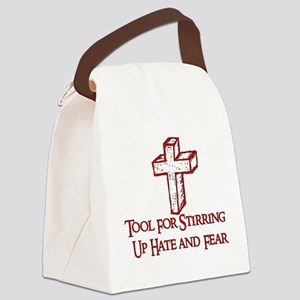 Hate Tool Canvas Lunch Bag